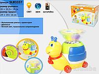 Детский светильник-проектор Улитка SL83337