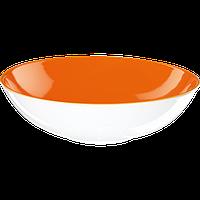 Пиала для супа/пасты ASA Selection COLOR-IT оранжевый/белый 17,5 см (1284807)