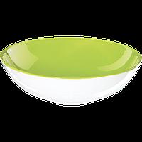 Пиала для супа/пасты ASA Selection COLOR-IT зеленый/белый 17,5 см (1284801)
