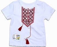 "Рубашка ""Вышиванка"" для мальчика короткий рукав"