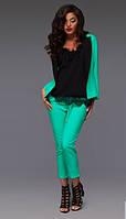 Костюм женский брюки и пиджак в расцветках 10460