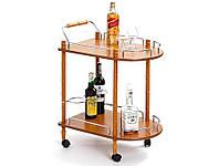 Сервировочный столик BAR-4 бук Halmar