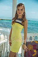 Желтое летнее Платье Ивонн
