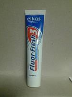 Зубная паста Elkos Fluorfresh (свежее дыхание)