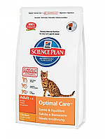 Hills Science Plan Feline Adult с курицей 15 кг