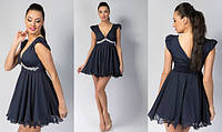 Женское короткое платье вечернее 42-48