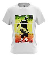 Оригинальная летняя мужская футболка цифровой принт БОБ МАРЛИ