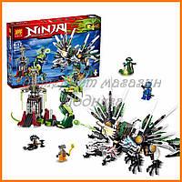 Конструктор Lele Ninja ниндзя 79132 Битва Драконов