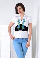 Оригинальная футболка с  V-образным вырезом