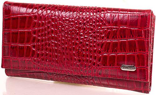 Великолепный яркий кожаный кошелек CANPELLINI (КАНПЕЛЛИНИ), SHI157-1KR