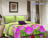 Комплект постельного белья бязь евро, Краски лета