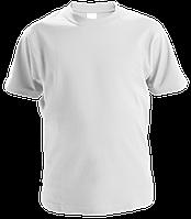 Однотонная детская футболка белого цвета