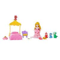 DPR Игровой набор маленькая кукла Принцесса Аврора и сцена из фильма, B5341