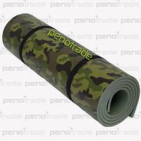 Военный туристический коврик(каремат) Декор Камуфляж