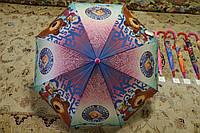 Детские зонты для девочек, цвета в ассортименте
