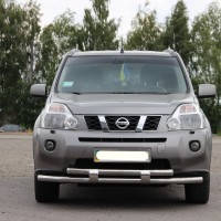 Кенгурятник ST 015-2 (d-60) Nissan X-Trail 2007+