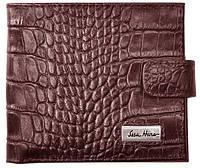 Дизайнерский мужской кошелек на клапане, кожаный ISSA HARA WB1-1 (22-00)