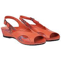 Босоножки женские Ricco Retto (терракотового цвета, с открытым носком, стильные, удобные, качественные)