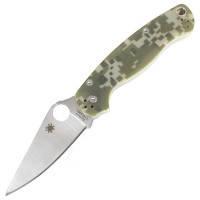 Нож складной SPYDERCO Para-Military С81 (длина: 21.0см, лезвие: 8.7см), камуфляжный