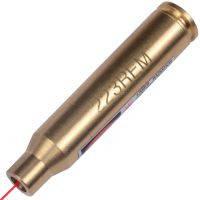 Лазерный патрон для холодной пристрелки (калибр: .223 REM, .222 REM, 6x47, 5.56x45, 5.56x50), латунь