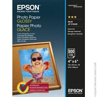 Бумага Epson 200г/мВІ, 10x15см, 500л, фото, глянцевая (C13S042549)