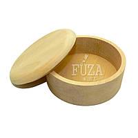 Шкатулка деревянная круглая ø120 мм