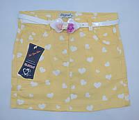 Модная летняя юбка для девочки  6-10 р