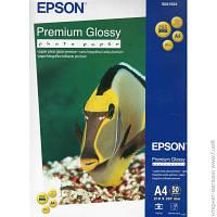 Бумага Epson 255 г/м.кв., А4, 50 л, фото, глянцевая (C13S041624)