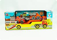 Машинка с трактором и грузовиком «Интелком» 3930