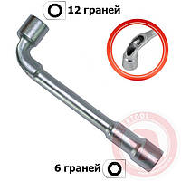 Ключ торцовый с отверстием L-образный 6 мм INTERTOOL HT-1606