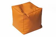 [ Chip D-529 S Orange ] Мягкий пуф кубик оранжевый