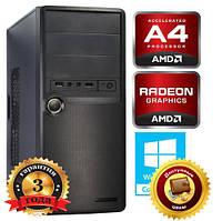 ОФИСНЫЙ! 2x3.6GHz+4GB+250GB+HD7480 2GB