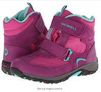 Ботинки зимние оригинальные размер 32 Merrell для девочки из Америки