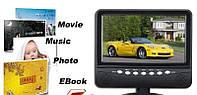 Портативный Телевизор TV NS 701 7 дюймов, двд плеер, переносной DVD, телевизор портативный