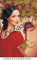 Схема для вышивки бисером «Гроздь винограда»