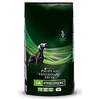 Purina (Пурина) Veterinary Diets HA Hypoаllergenic Canine Лечебный сухой корм для собак при аллергии 3 кг
