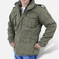 Куртка М-65 Vintage с подстежкой цвет  олива  Германия
