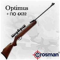 Crosman Optimus (CO1K77X) пневматическая винтовка с оптикой (4x32)