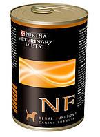 Purina (Пурина) Veterinary Diets NF Renal Canine Консерва для собак при заболеваниях почек и печени 400 гр