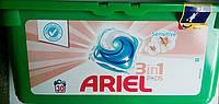Капсулы для стирки белья Ariel Sensitive 3 в 1 30шт Капсулы Ариэль сенситив