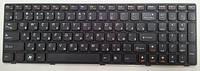 Клавиатура для ноутбука LENOVO (G580, G585, N580, N585, V580, Z580, Z585) rus, black, black frame