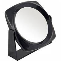 Sibel Зеркало косметическое черное 13см
