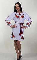 Женское вышитое платье, норма и баталл