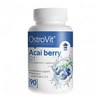 Антиоксиданты OstroVit Acai Berry 12:1 90tab