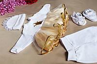 """Детский комплект одежды """"Royal"""" для новорожденных девочек (велюр)"""