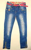 Модные джинсы для девочек подростковые