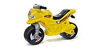 Каталка детская Мотоцикл 501 Орион желтый