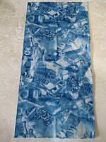 Летний бафф, buff, бесшовный шарф, повязка (#149)