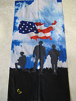 Летний бафф, buff, бесшовный шарф, повязка (#150)