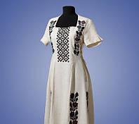 Женское вышитое платье, разные расцветки